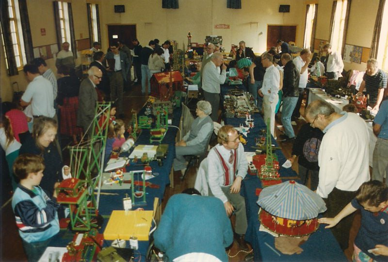 General view of the Eltham United Reformed Church hall at our 12th exhibition on 31st March 1990