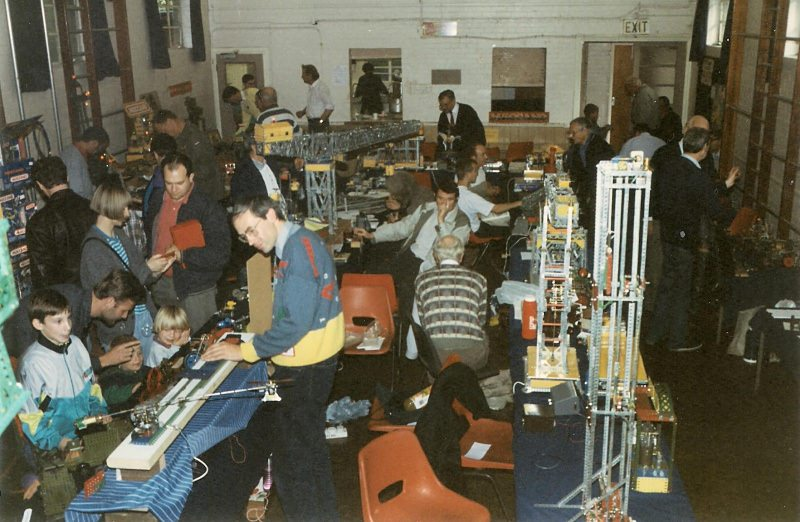 General view of Christchurch Hall at our 15th exhibition on 9th October 1993