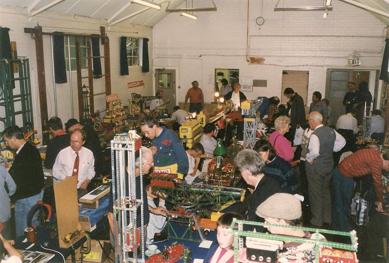 General view of Christchurch Hall at our 17th exhibition on 7th October 1995