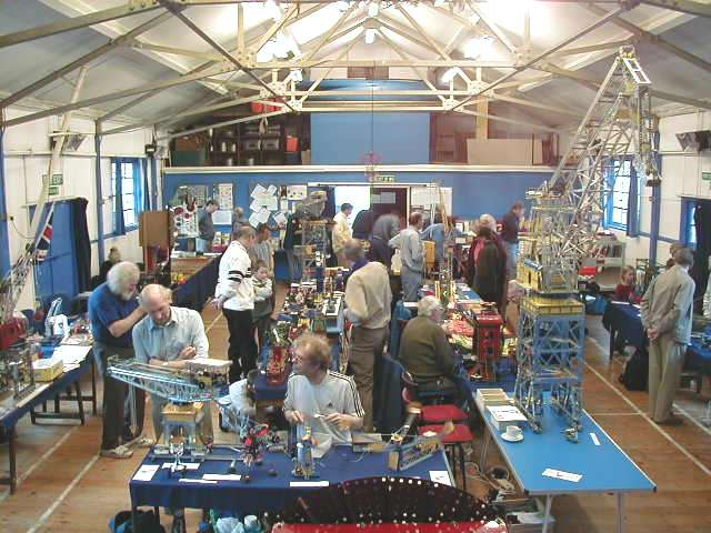 General view of our 23rd exhibition on 20th October 2001 at Bromley Scout Hall