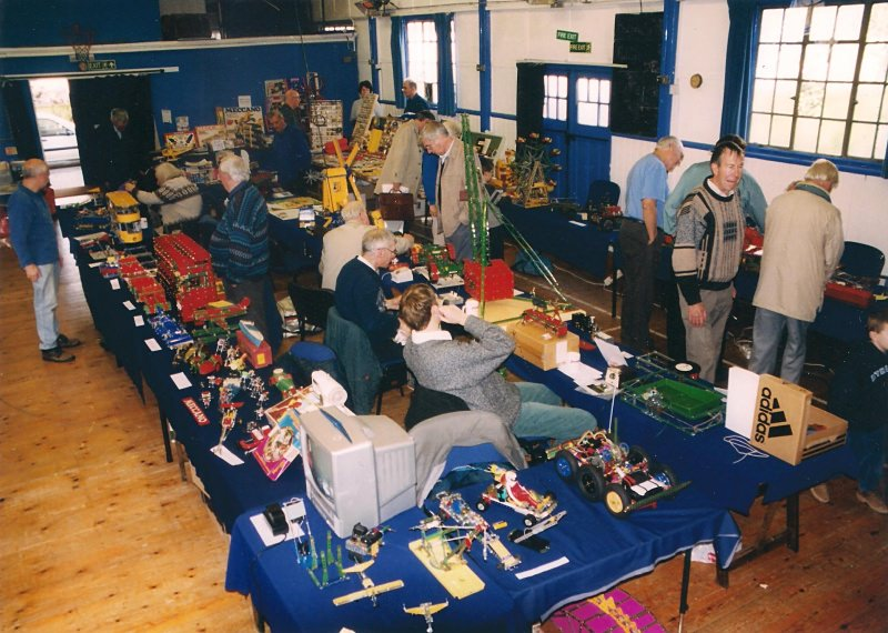General view of our 25th exhibition in October 2003 at the 3rd Bromley Scouts Group Hall