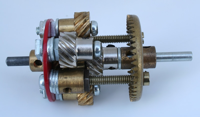 Figure 11.1: Meccano open helical geared differential