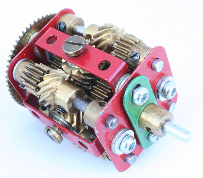 Figure 6.2: Meccano model of a Ferrari type limited slip differential