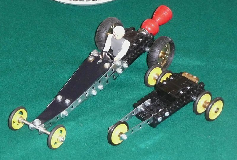Chris's dragster