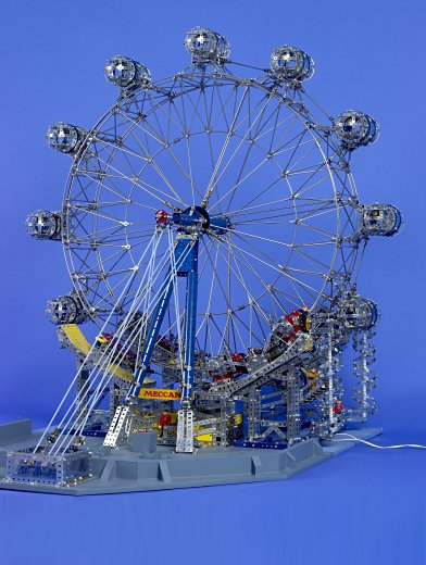 Figure 1: A general view of the London Eye model