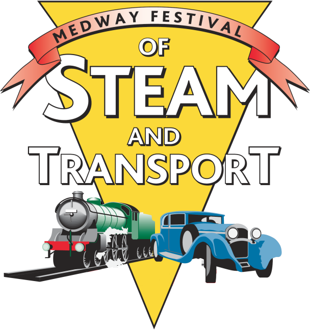 Medway Festival of Steam and Transport 2013 logo
