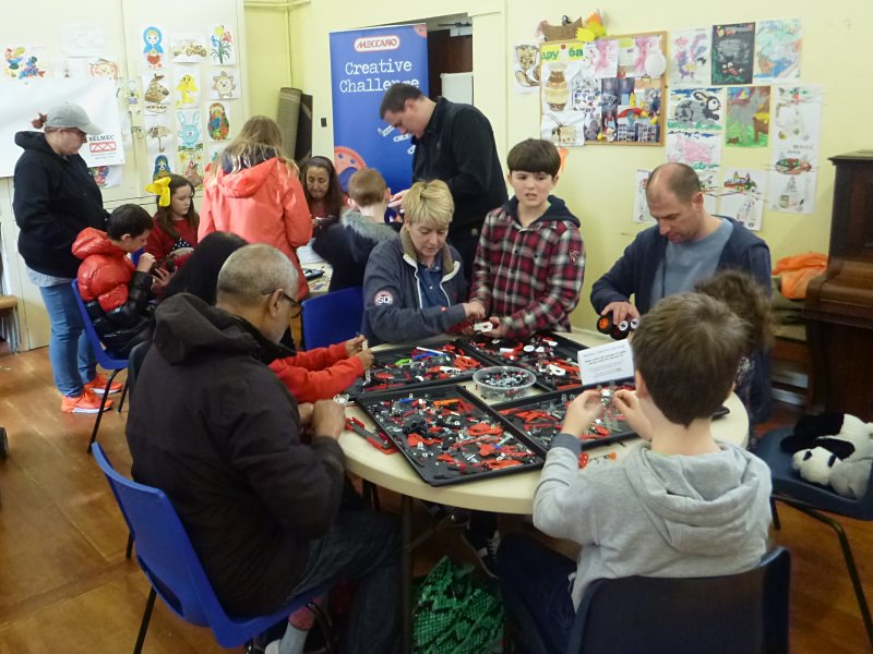 The Make It With Meccano workshop