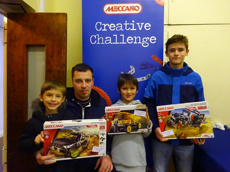 All the winners of the Meccano Creative Challenge 2018