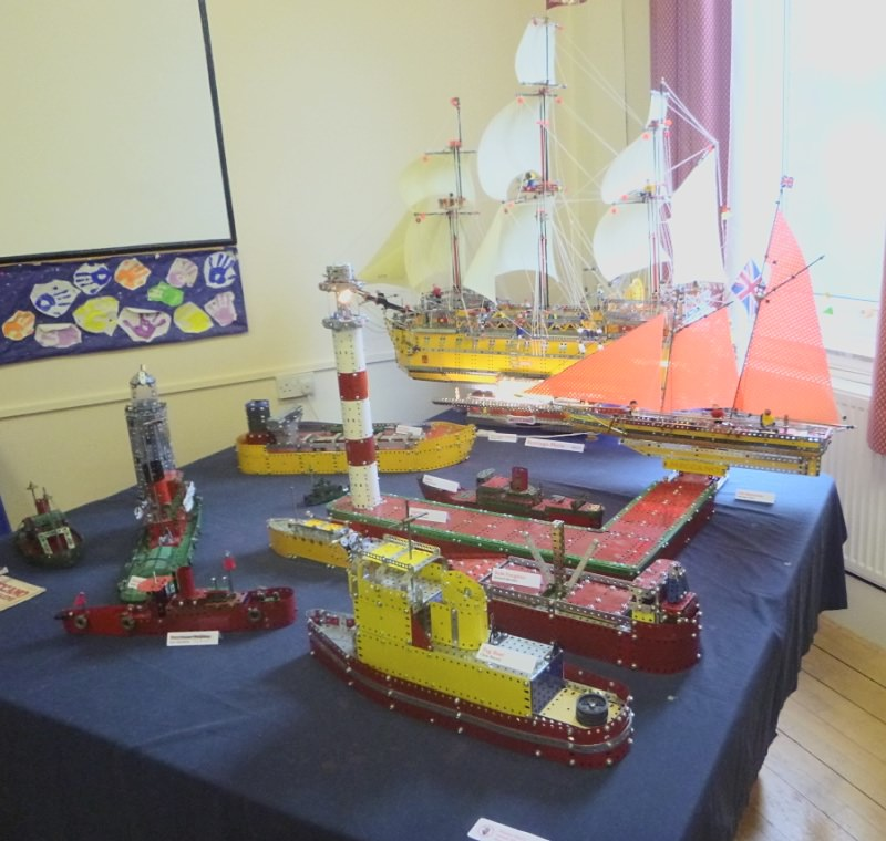 The harbour display in the Penford Room