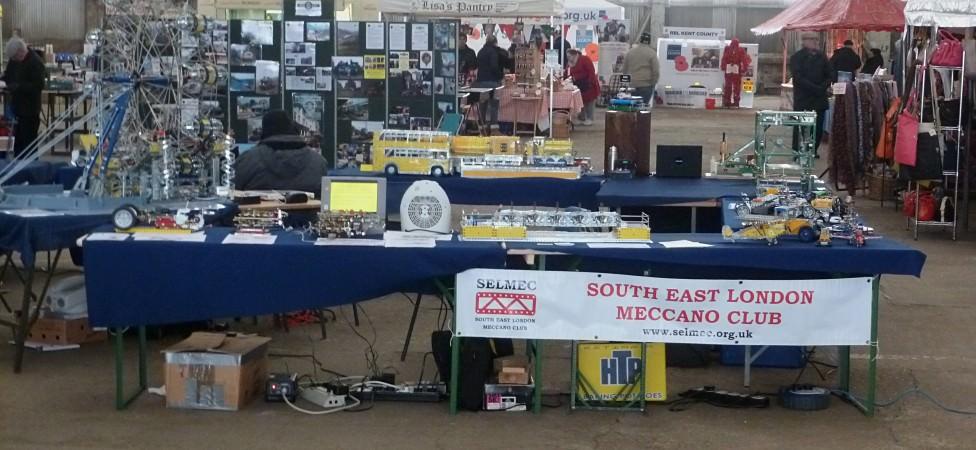 An overview of our stand at the festival