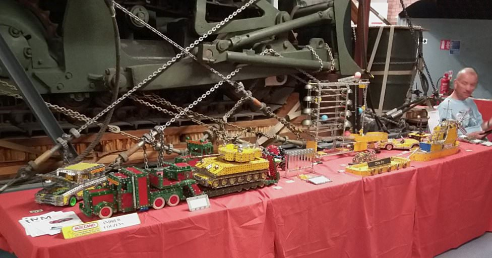 Part of our stand, featuring models from Andrew Couzens and Chris Fry