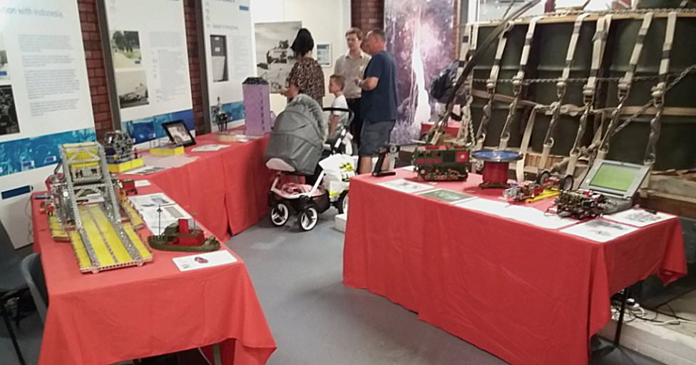 Another part of our stand featured Alan Wenbourne's models