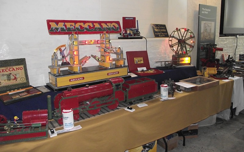 Frank Paine's Meccano display