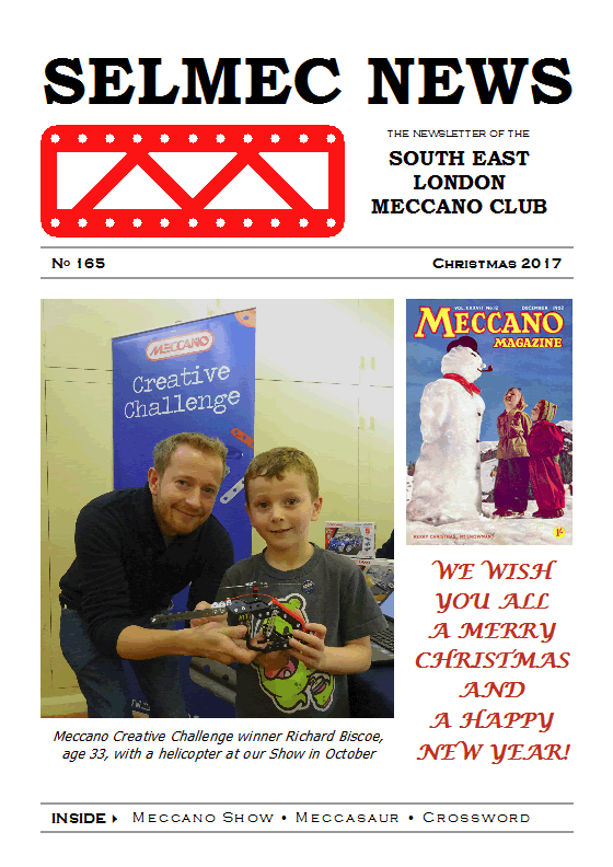 Christmas 2017 Newsletter cover
